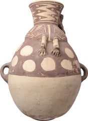 Fine Chancay Terracotta Vessel Coastal Peru 1000-1470 Ad - Product
