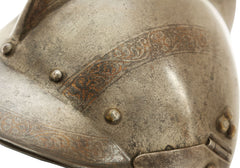 FINE GERMAN BURGONET, MID-16th CENTURY - Fagan Arms