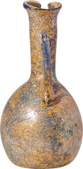 Fine Roman Blue Glass Flask Or Ewer C.100-300 Ad - Product