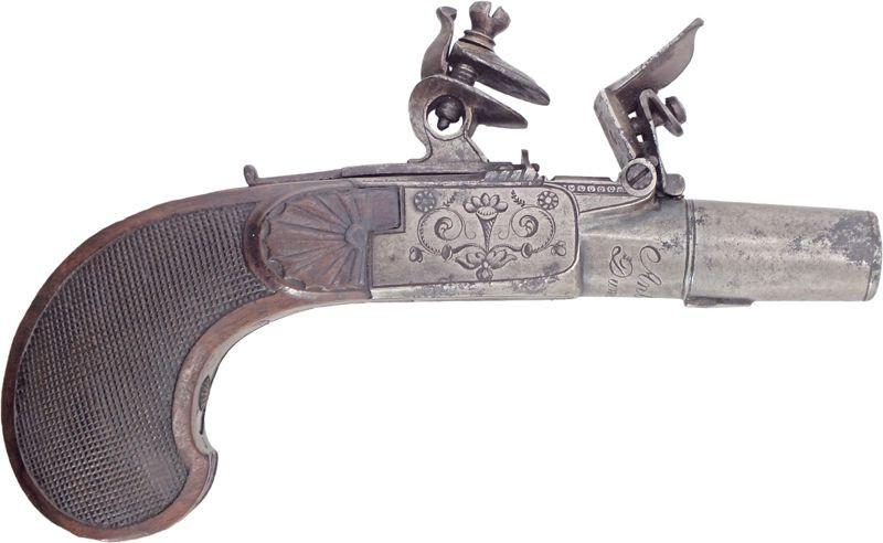 French Flintlock Box Lock Pistol Last Quarter Of The 18Th Century - Product