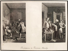 FRONTPIECE TO TRISTRAM SHANDY, WILLIAM HOGARTH