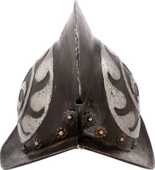 GERMAN BLACK AND WHITE MORION C.1580-1600 - Fagan Arms