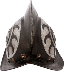 German Black And White Morion C.1580-1600 - Product