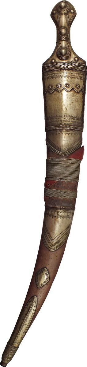 GOOD EARLY WAHHABITE JAMBIYA - Fagan Arms