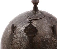GOOD INDOPERSIAN HELMET KULAH KHUD C.1700-EARLY 18th CENTURY - Fagan Arms