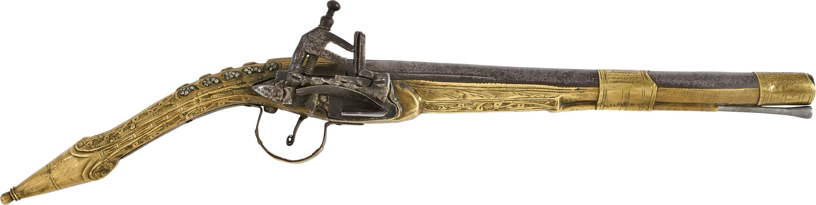 GOOD OTTOMAN (ALBANIAN) MIQUELET PISTOL C.1800-EARLY 19th CENTURY - Fagan Arms