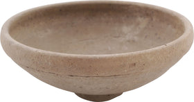 GREEK BUFF TERRACOTTA BOWL