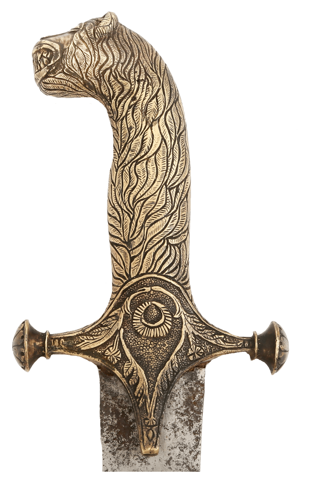 A VERY RARE AND IMPORTANT SWORD FROM THE CIRCLE OF TIPU SULTAN