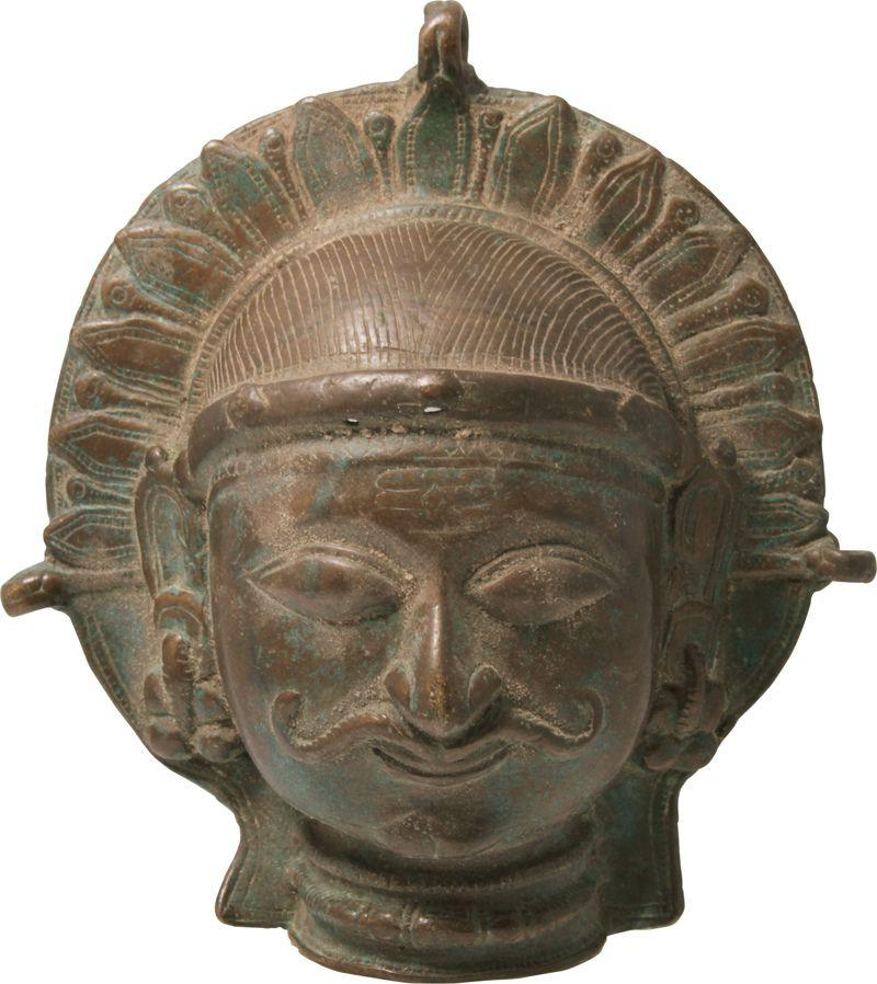 Indian Bronze Pectoral - Product