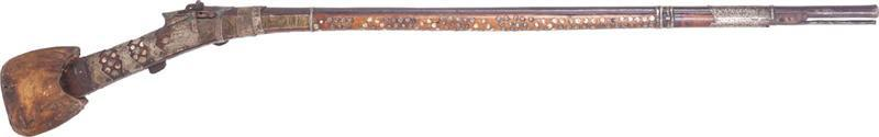 Indopersian Matchlock Musket - Product