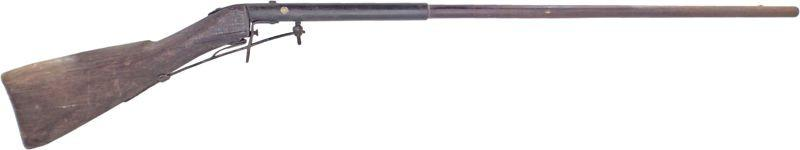 Ingenious American Under Hammer Musket - Product