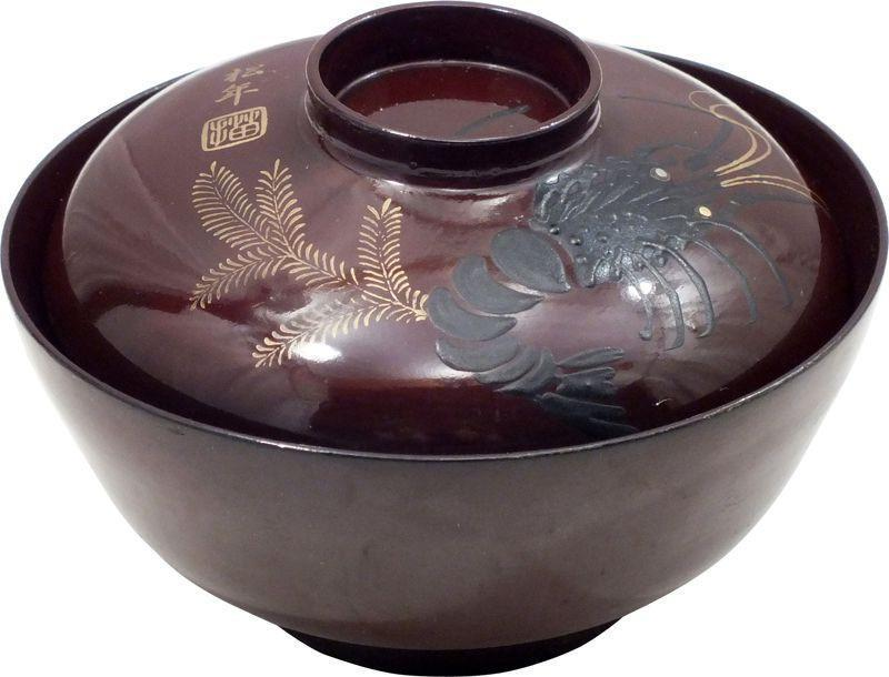 Japanese Lacquer Bowl Owan - Product