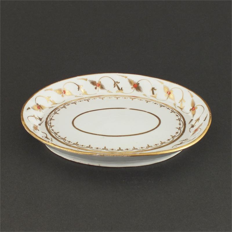 Lowestoft Oval Tray Or Serving Dish C.1770 - Product