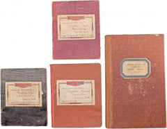 Mary Margaret Motley Sheridans Workbooks With Corrections And Translations By E. A. Wallis Budge Including Her Original Pen - Product