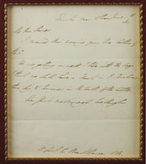 ORIGINAL DUKE OF WELLINGTON LETTER, JUNE 3, 1811 - Fagan Arms