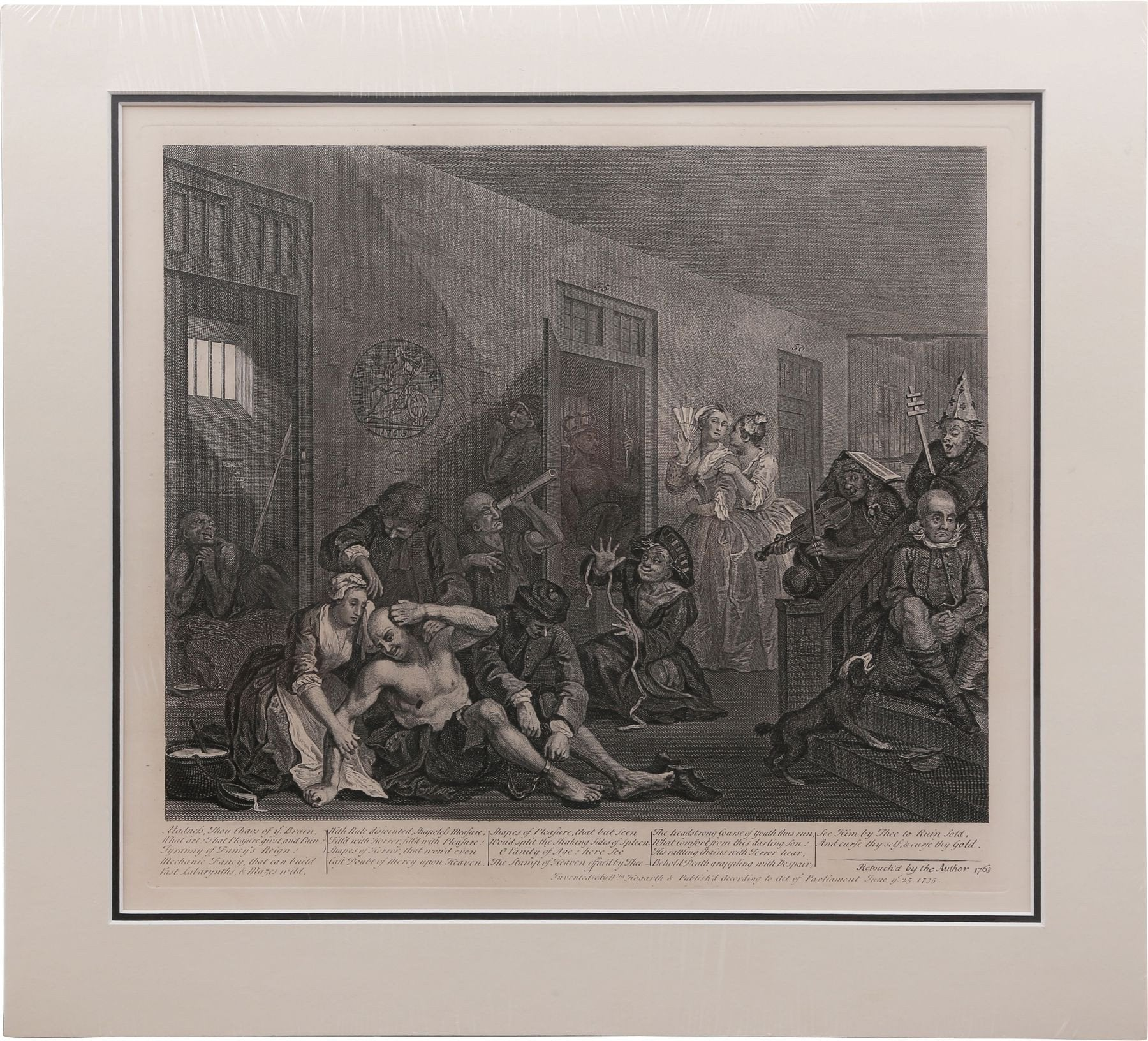 Original William Hogarth Print - Product