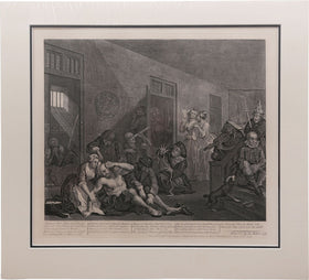 ORIGINAL WILLIAM HOGARTH PRINT