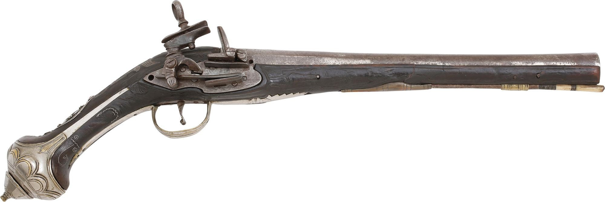 Ottoman Miquelet Pistol Of Exceptional Quality - Product