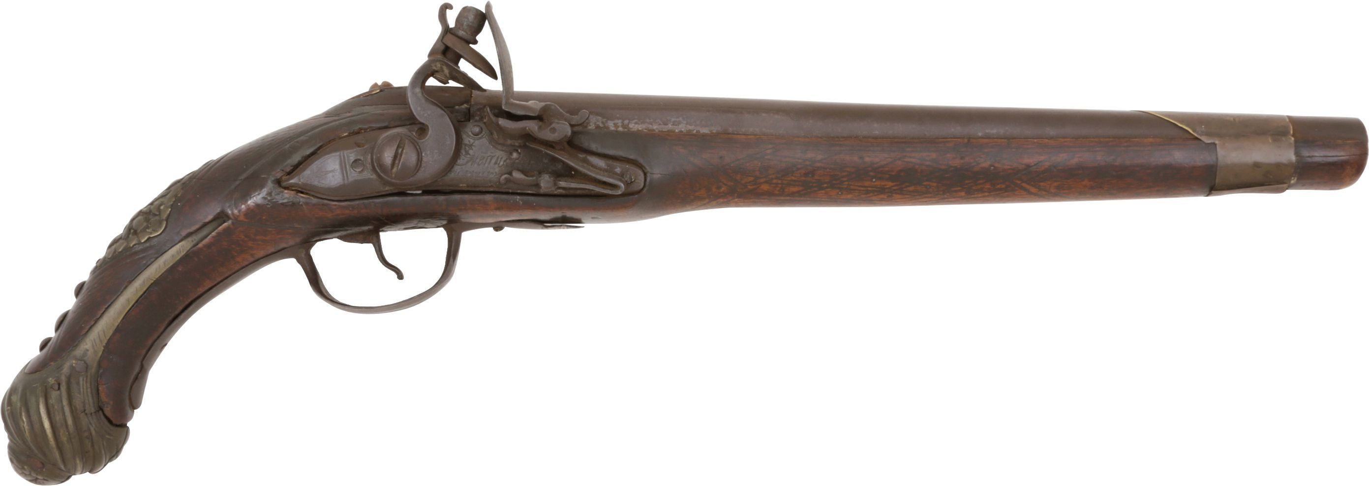 OTTOMAN TURKISH FLINTLOCK PISTOL C.1800 - Fagan Arms