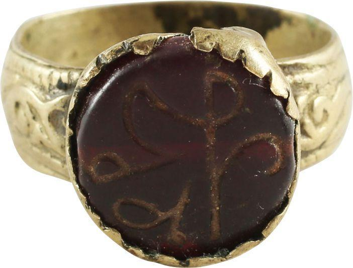 OTTOMAN TURKISH WARRIOR'S RING SIZE 9 - Fagan Arms