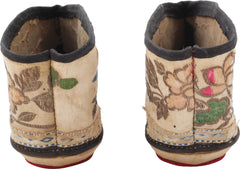 Pair Of Chinese Ladies Shoes For Foot Bound Feet - Product