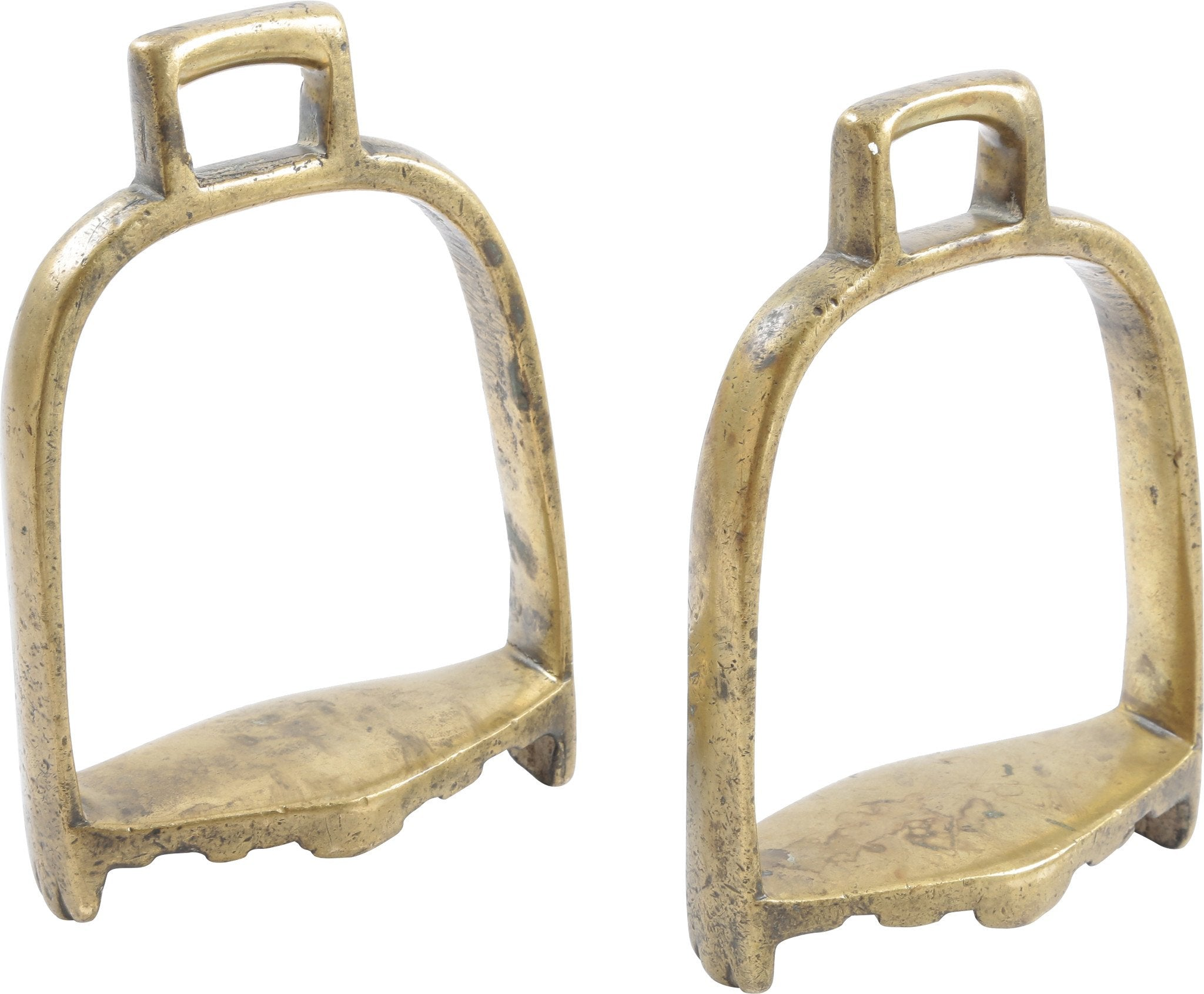 PAIR OF INDOPERSIAN STIRRUPS - Fagan Arms