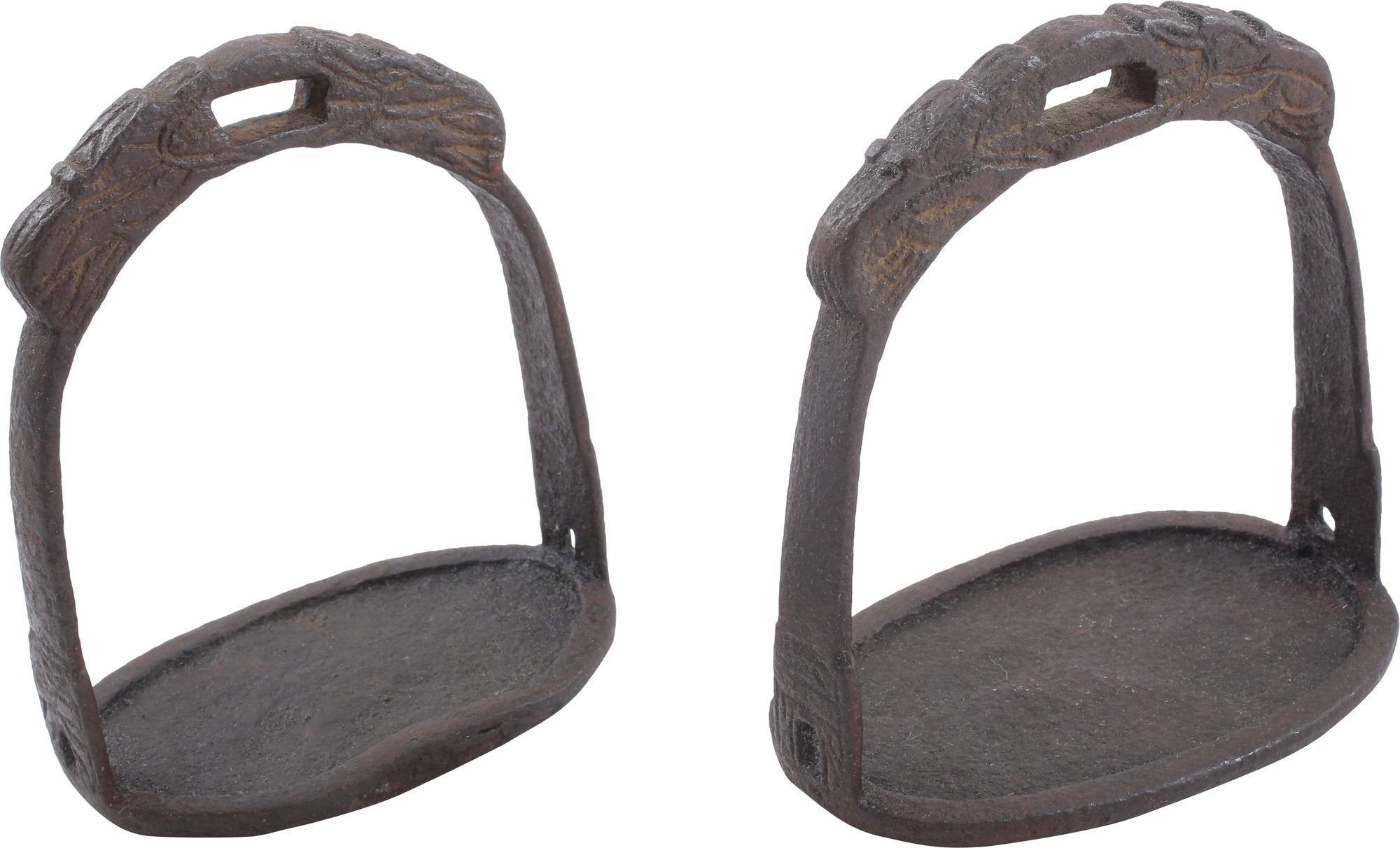 Pair Of Iron Chinese Stirrups - Product