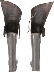 Pair Of Victorian Armor Legs - Product