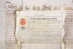 PROBATED WILL OF CHARLES KELLER - Fagan Arms
