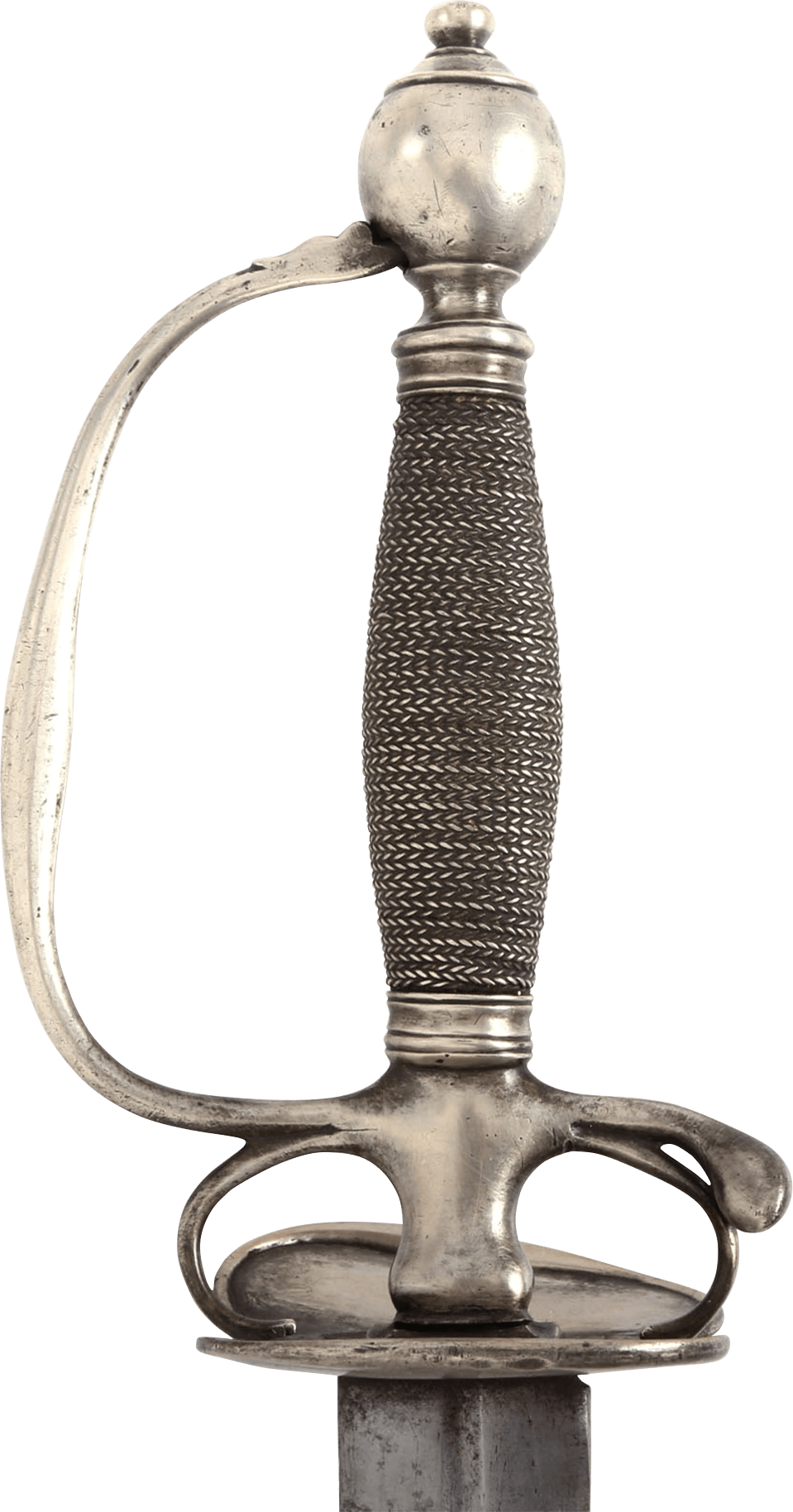 Rare American Silver Hilted Smallsword C.1750 - Product