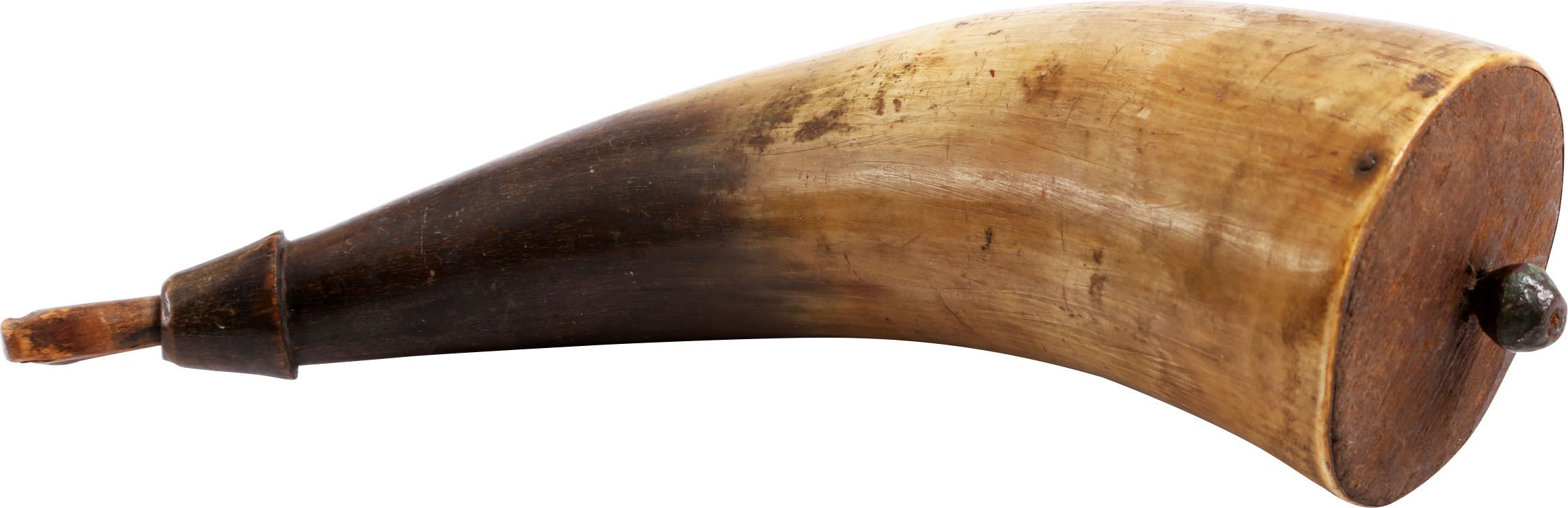 REVOLUTIONARY WAR POWDER HORN