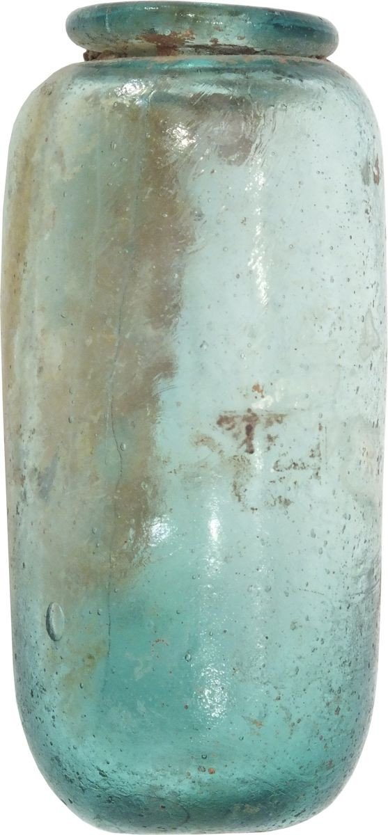 Roman Blue Glass Flask First Century Ad - Product