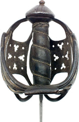 SCOTTISH BASKET HILT BROADSWORD - Fagan Arms