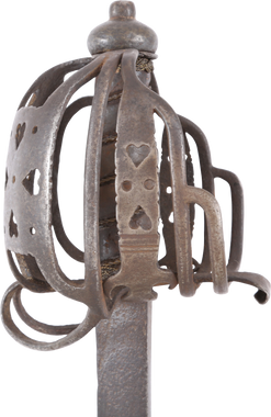 SCOTTISH BASKET HILTED BACK SWORD
