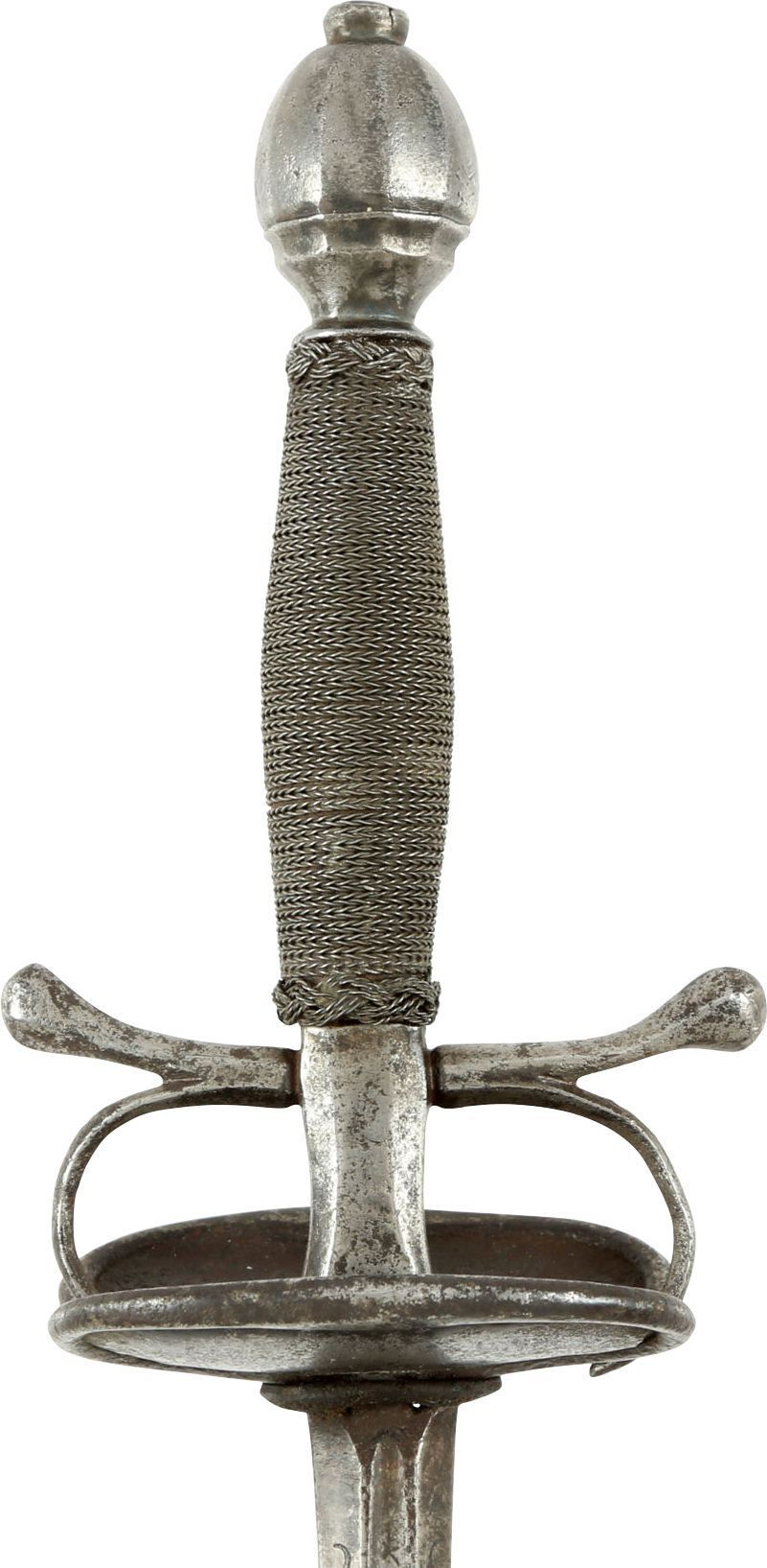 SPANISH TRANSITIONAL/DUELING RAPIER C.1680-1700 - Fagan Arms