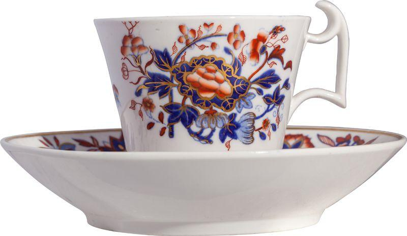 Spode Cup And Saucer C.1800-20 - Product