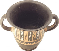 Very Fine South Italian Black Glazed Pottery Sessil Kantharos - Product