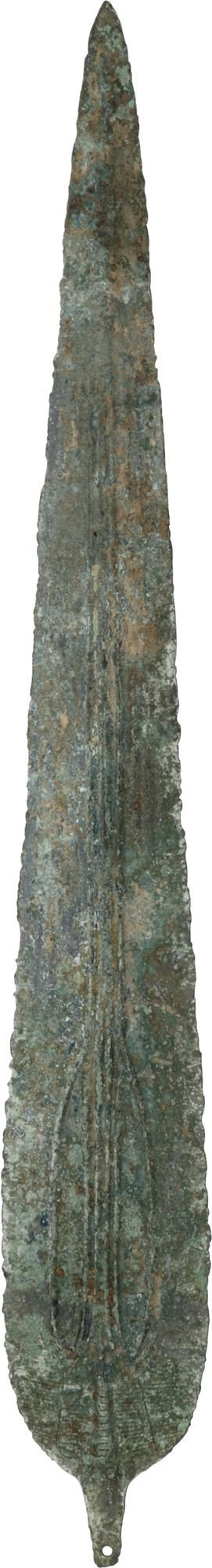 Very Large Luristan Bronze Spear C.1200-750 Bc - Product