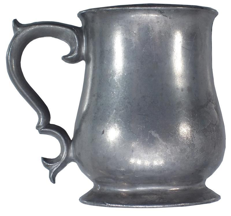 Victorian Pewter Pint Mug - Product