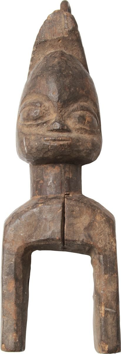 Yoruba West Africa Figural Heddle Pulley - Product