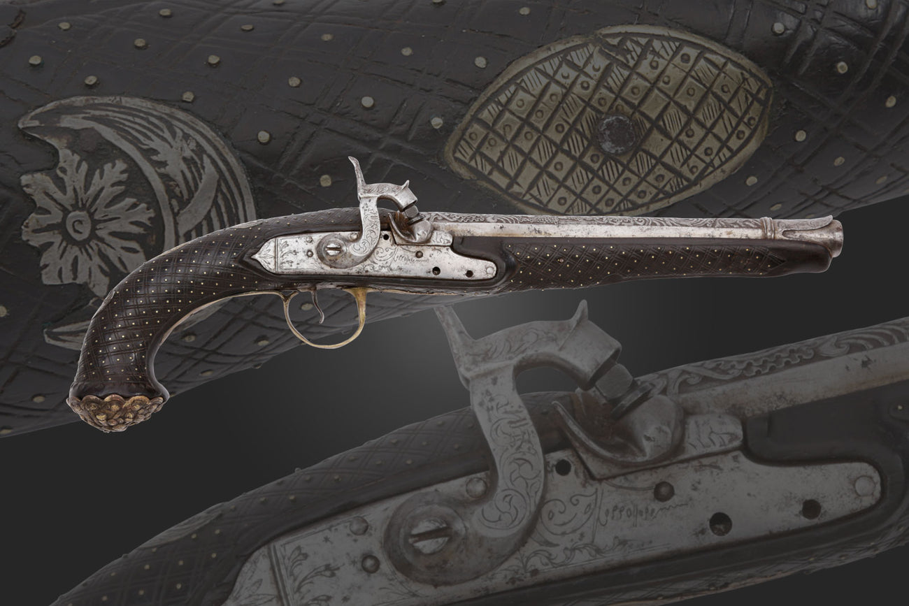 An Ottoman Turkish Flintlock Blunderbuss C.1800