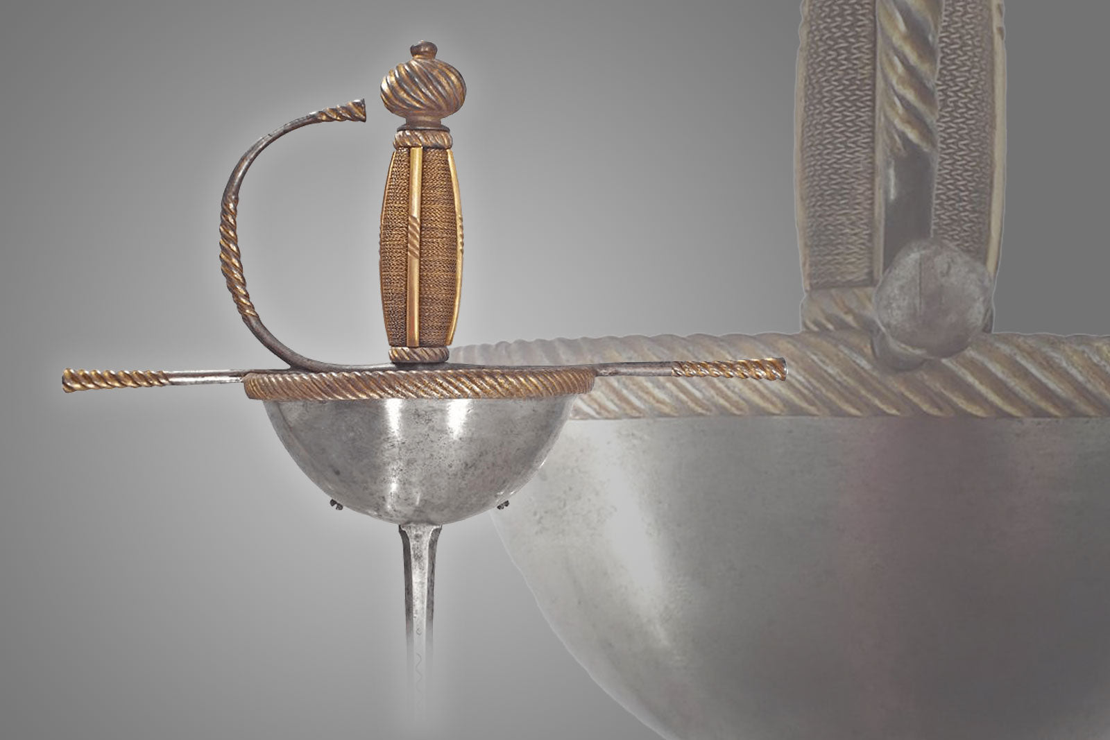 A Spanish Or Italian Cup Hilted Rapier C.1650