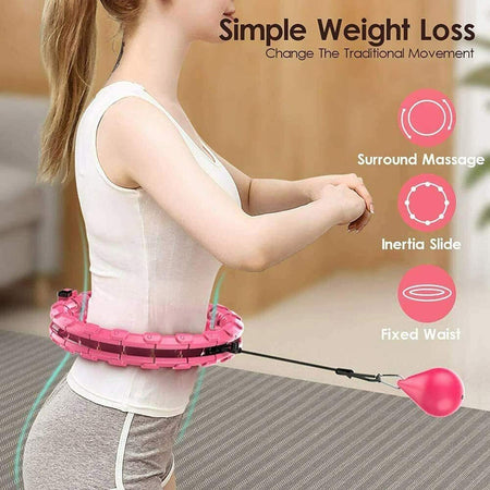 #1 Rated Smart Hula Hoop - Workout Weighted Hula Hoop
