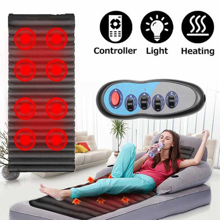 Full Body Massager Mat - Vibration Massager with Heat