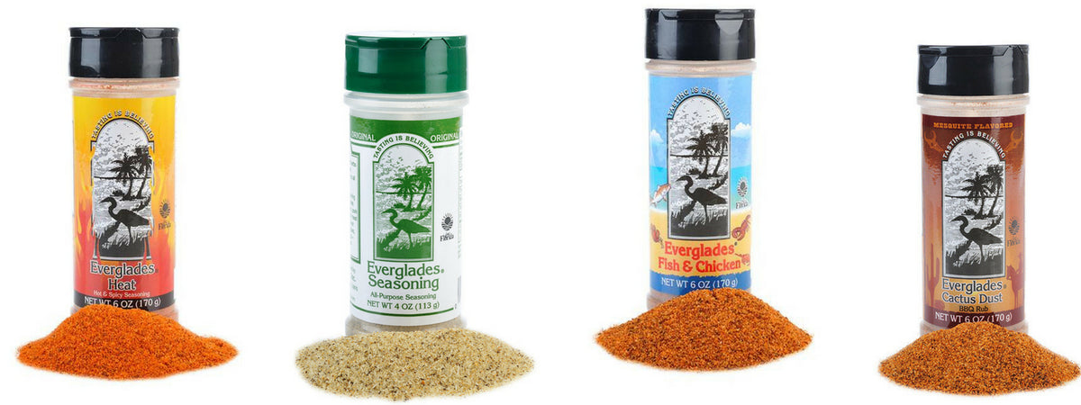Everglades Seasoning Tasting Is Believing