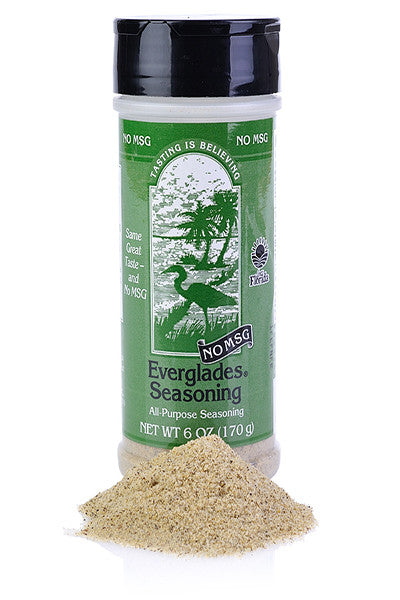 Everglades All Purpose Seasoning w/No MSG 6 oz Case