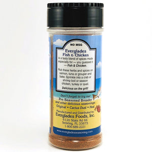 Everglades 6 oz Fish and Chicken Seasoning Shaker