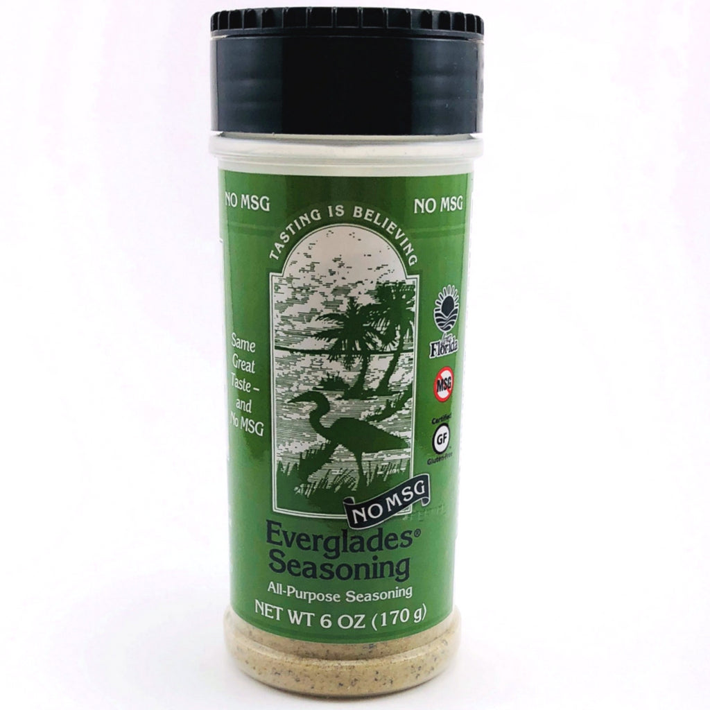 Everglades 6 oz All Purpose Seasoning w/No MSG Shaker