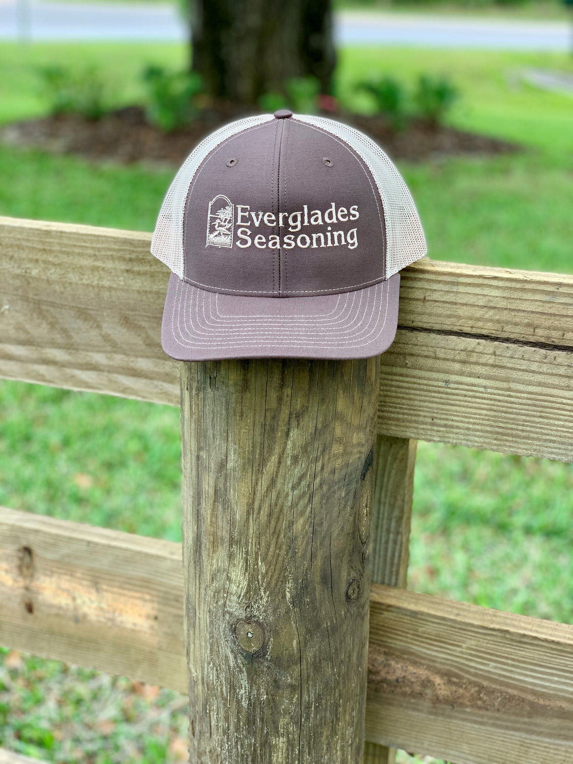 Everglades SnapBack-Brown and Tan