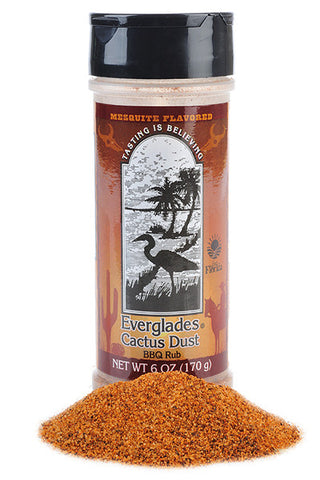 Everglades Cactus Dust Seasoning BBQ Rub 6 oz Case
